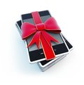 Smart Phone gift Stock Photo