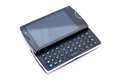 Smart phone with qwerty keyboard Royalty Free Stock Image