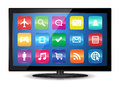 Smart TV Stock Photo