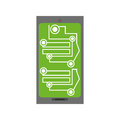 Smartphone circuit electronic board Royalty Free Stock Photo