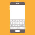 Smartphone touchscreen keypad vector backdrop or background of design with Royalty Free Stock Images
