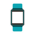 Smartwatch gadget isolated icon