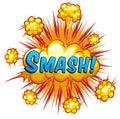Smash Lizenzfreies Stockfoto