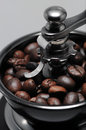 Smerigliatrice di caffè Fotografie Stock