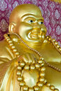 Smile buddha statue Royalty Free Stock Photo