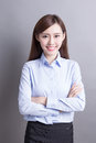 Smile business woman Royalty Free Stock Photo