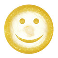 Smile condom Royalty Free Stock Image