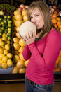 Smile fruit smell Royalty Free Stock Photo