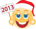 Smile New Year's Eve, Christmas Day. Smile. Royalty Free Stock Photo