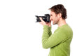 Smile Please; Time for a snap! Royalty Free Stock Photo