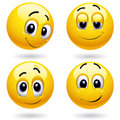Smiley ball Stock Images