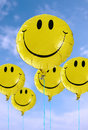 Smiley Balloon Royalty Free Stock Image
