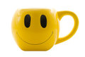 Smiley Cup/Mug Royalty Free Stock Photo