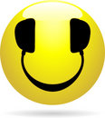 Smiley DJ Royalty Free Stock Image