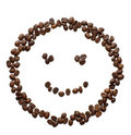 Smiley Face and Coffee Stock Photography