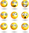 Smiley Face`s Stock Images