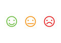 Smiley faces icons Royalty Free Stock Photo