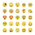stock image of  Smiley Flat Icons Pack