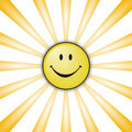Smiley heureux Photo stock