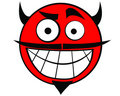 Smiley Icon Devil Stock Photos