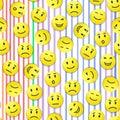 Smiley pattern