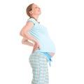 Smiley pregnant woman Royalty Free Stock Photo