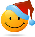 Smiley Santa Claus Stock Images