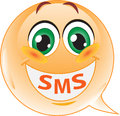 Smiley. SMS Stock Photography