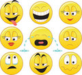 Smileys Royalty Free Stock Photo