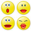 Smileys1 Stock Image