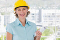 Smiling architect looking at camera Royalty Free Stock Photo