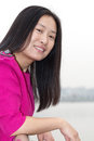 Smiling Asian Woman Stock Images