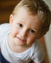Smiling baby portrait Royalty Free Stock Photo