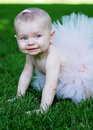 Smiling Baby - vertical Royalty Free Stock Photography
