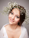 Smiling beautiful Forest Fairy Royalty Free Stock Images