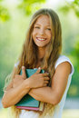 Smiling beautiful teenage girl Royalty Free Stock Image