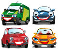 Smiling Cars Royalty Free Stock Images