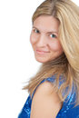 Smiling caucasian woman Royalty Free Stock Photography