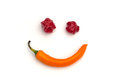 Smiling Chili Royalty Free Stock Photo