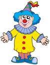 Smiling clown Royalty Free Stock Photo