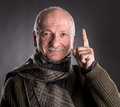 Smiling elderly man Royalty Free Stock Photo