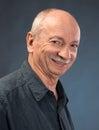Smiling elderly man Royalty Free Stock Photo
