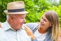 Elderly care outdoor
