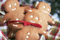 Smiling ginger bread Royalty Free Stock Photo