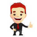 Smiling Guy giving Thumbs Up Approval Royalty Free Stock Photo
