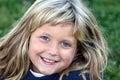 feliz joven chica