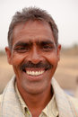 Smiling Indian man Royalty Free Stock Photos