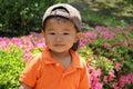 Smiling Japanese boy Royalty Free Stock Photo