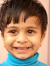 Smiling Little Kid Stock Photo