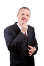Smiling man in business suit Royalty Free Stock Photo